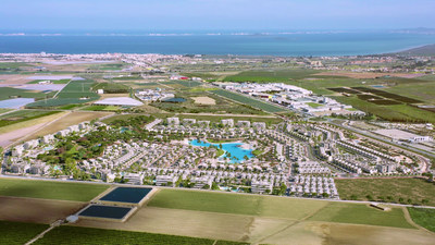 Render del proyecto Santa Rosalía que Crystal Lagoons® desarrolla en Murcia