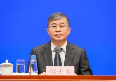 Chu Shijia, director general del Centro de Comercio Exterior de China (PRNewsfoto/Canton Fair)